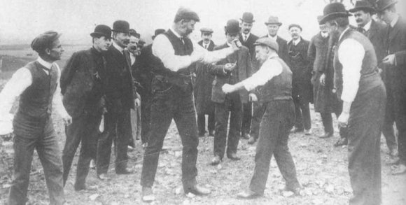 When fighting was classy and men well-dressed, image via cdn.filmschoolrejects.com