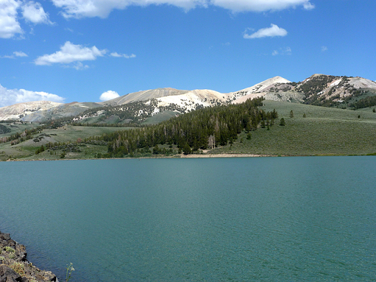 Mount Patterson seen from Lobdell Lake, credit: summitpost.org